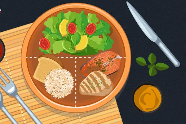 แบ่งสัดส่วนมื้ออาหาร สร้างนิสัยที่ดีของคนจะลดหุ่น ข่าวสาร ความรู้ สุขภาพ ครอบครัว กีฬา ออกกำลังกาย สูตรสัดส่วนมื้ออาหาร